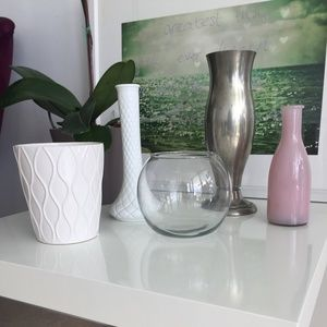 Vases for Flowers and Decor